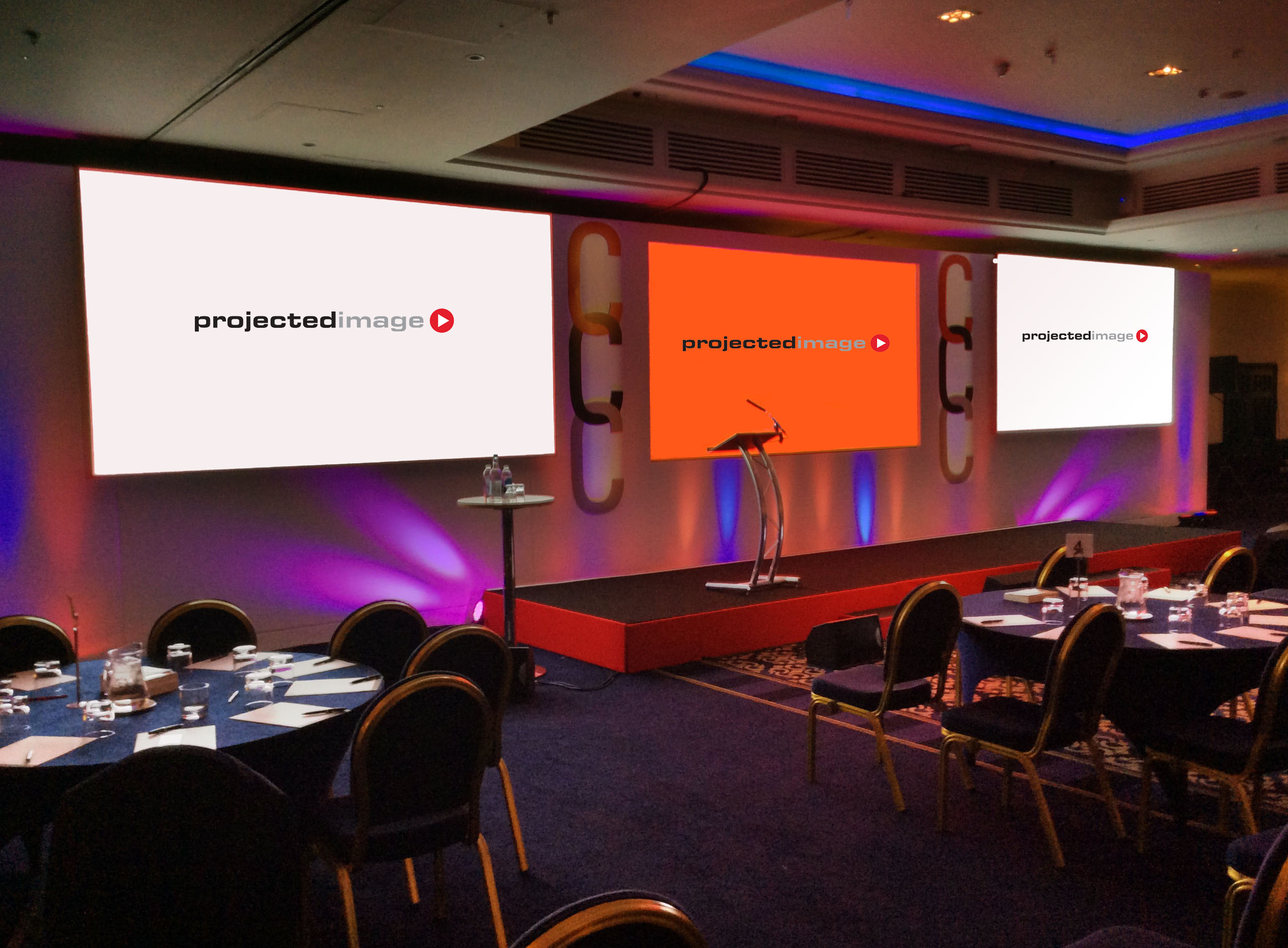 Large Screen Projection Conference