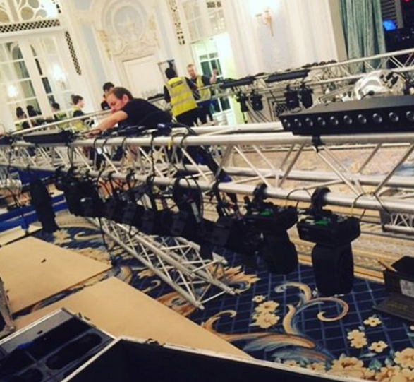 Lighting Rig at The Savoy