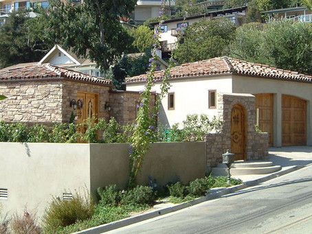 TUSCANY STYLE CONTEMPORARY HOME, LAGUNA BEACH, CA
