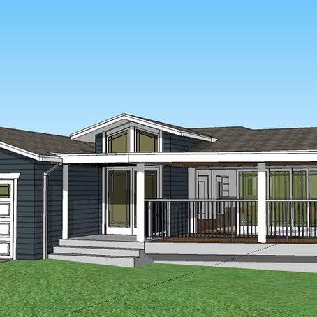 SILVERMAN: CONTEMPORARY COTTAGE