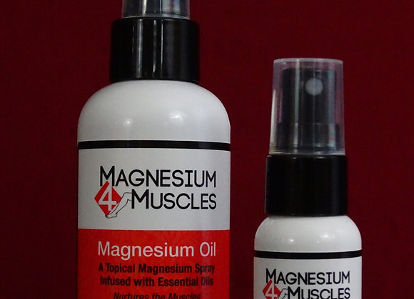 Magnesium Oil Topical Spray (Combo Pack)