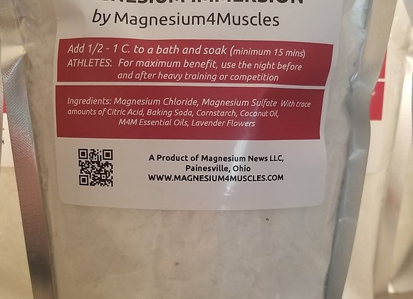Magnesium Bath Immersion Bath Time Bliss- 2lbs