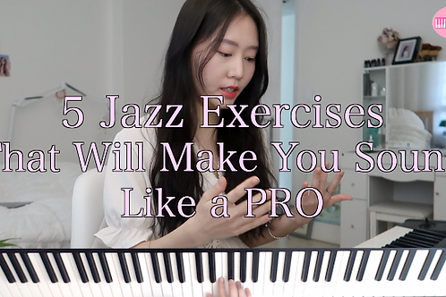 5 Jazz Exercises That Will Make You Sound Like A PRO
