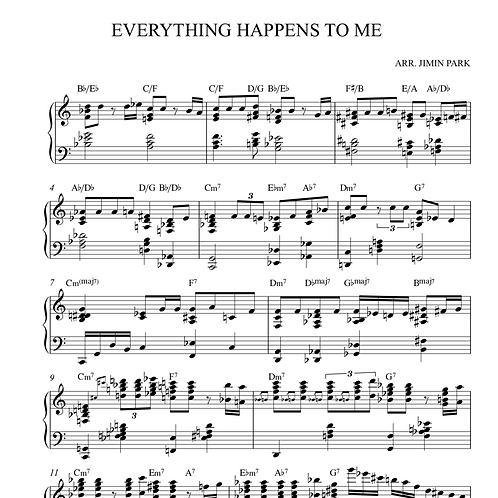 Everything happens to me