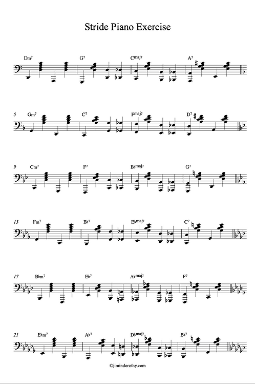 How to Play Jazz Piano Left Hand