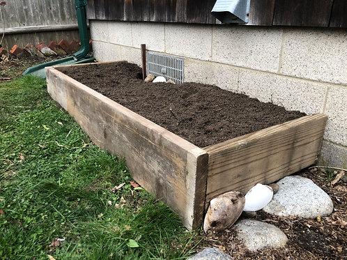 """4"""" Driftwood Garden Box"""