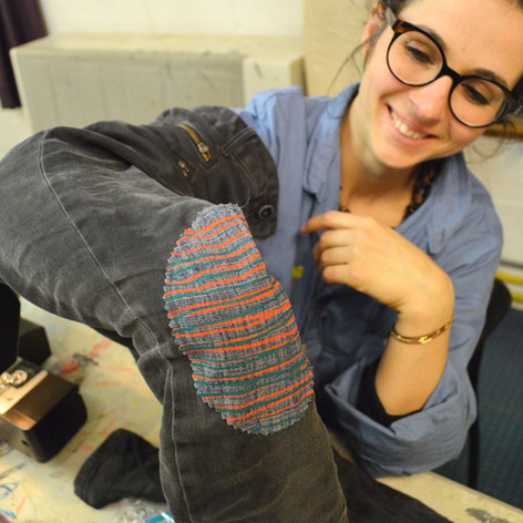 adultes textile jeans