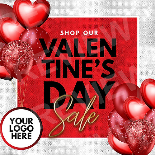 Valentine's Sale PreMade - Red