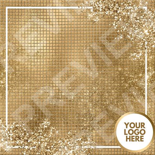 PreMade Social Media Template - Gold