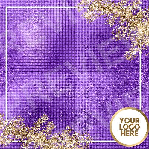 PreMade Social Media Template -Purple