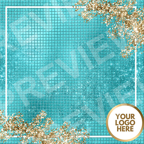 PreMade Social Media Template - Teal