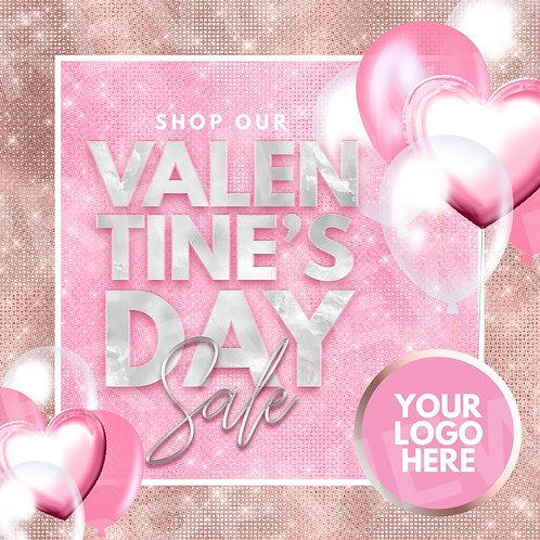 Valentine's Day Sale PreMade - Rose
