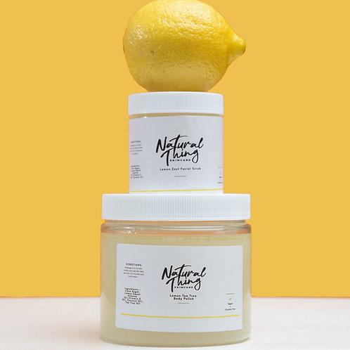 Lemon Zest Facial Scrub