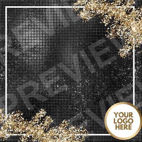 PreMade Social Media Template - Black