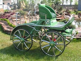 MHP2 Marathon horse pairs carriage