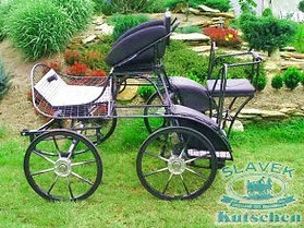 MSP4 Marathon single pony carriage