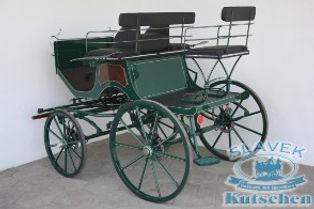 Pony Dressage Carriage P1