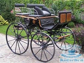 Horse Dressage Carriage H3