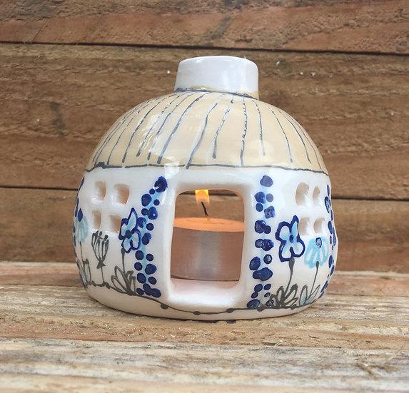 Cottage Tea Light Holder