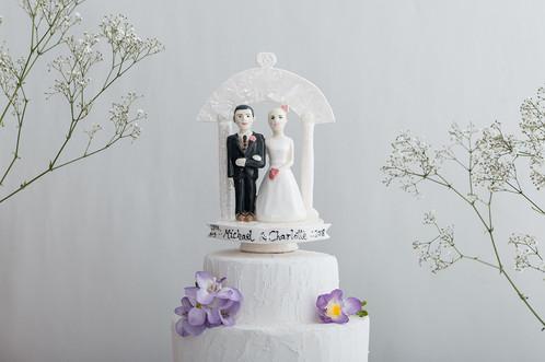 Dove Wedding Cake Topper - Wedding Cake Flavors