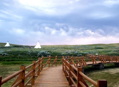 Camping in Saskatchewan - Grasslands and Moose Mountain Provincial Park