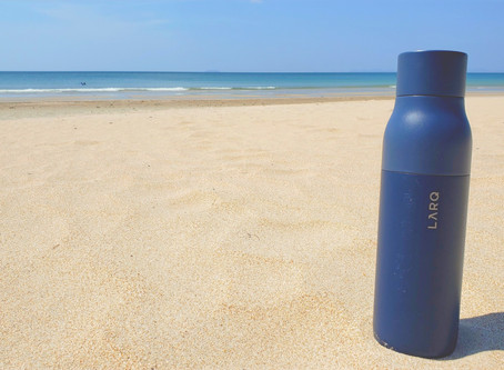 LARQ BOTTLE REVIEW: The Water Purifier That Cleans Itself