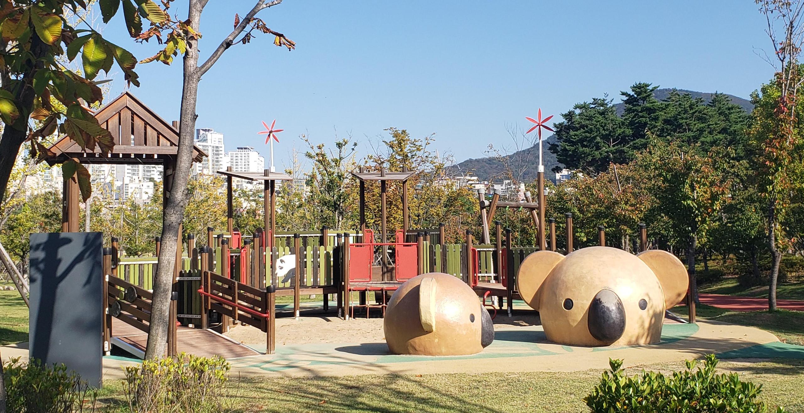 Playground at Busan Citizen's Park