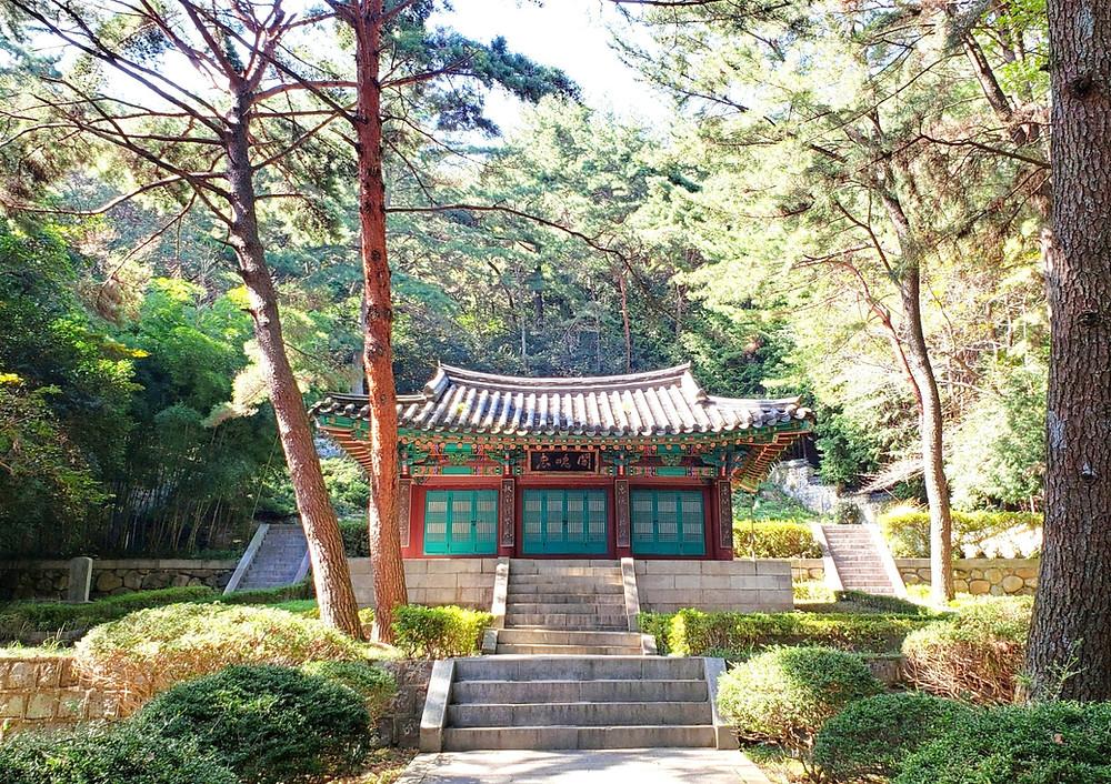 Geumgang Park, Buddhist Shrine, Temple, Busan, South Korea, Hiking