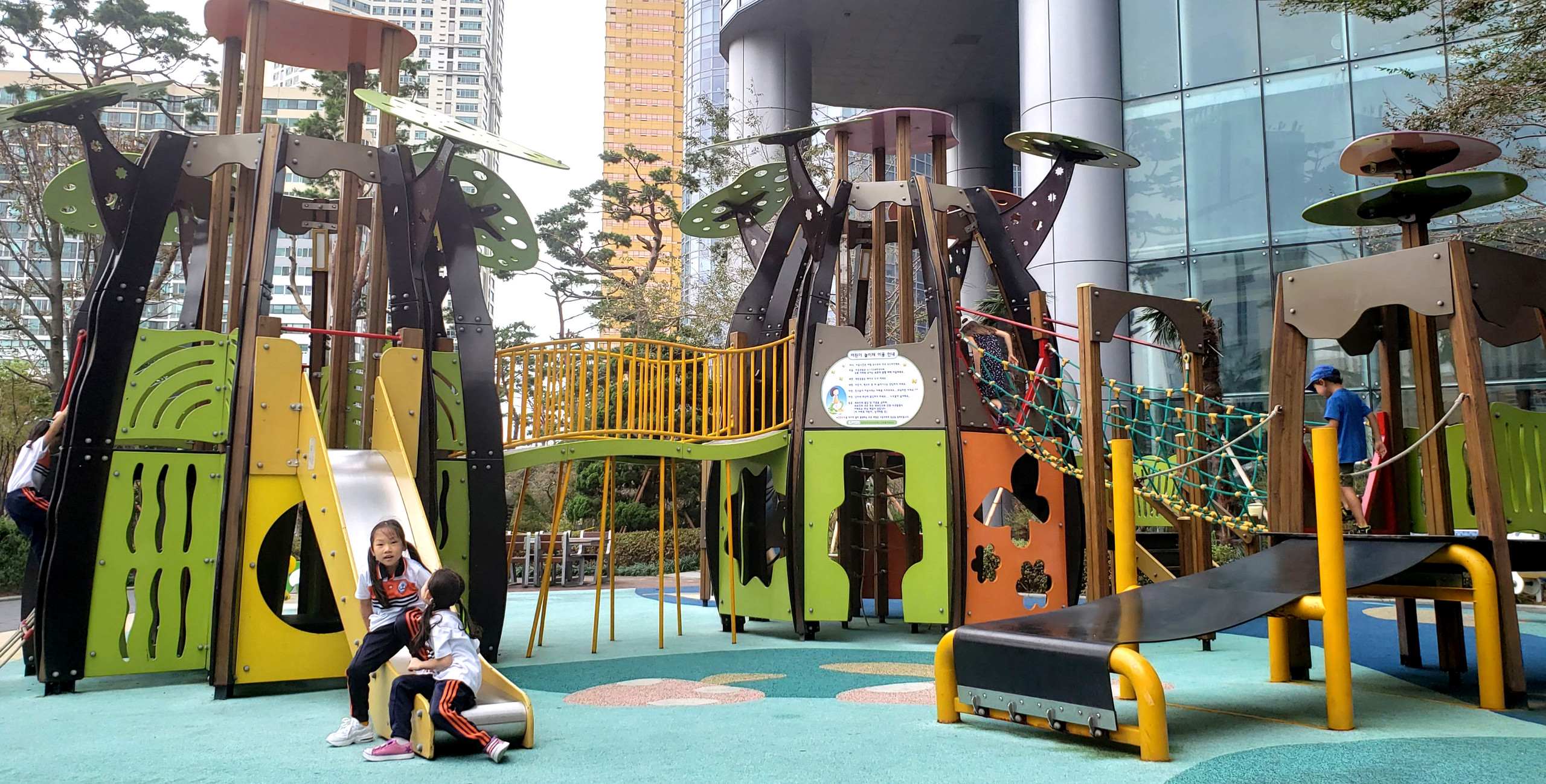 Playgrounds in Busan