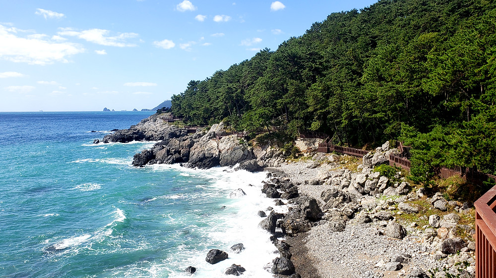 Dongbaek Island, Busan