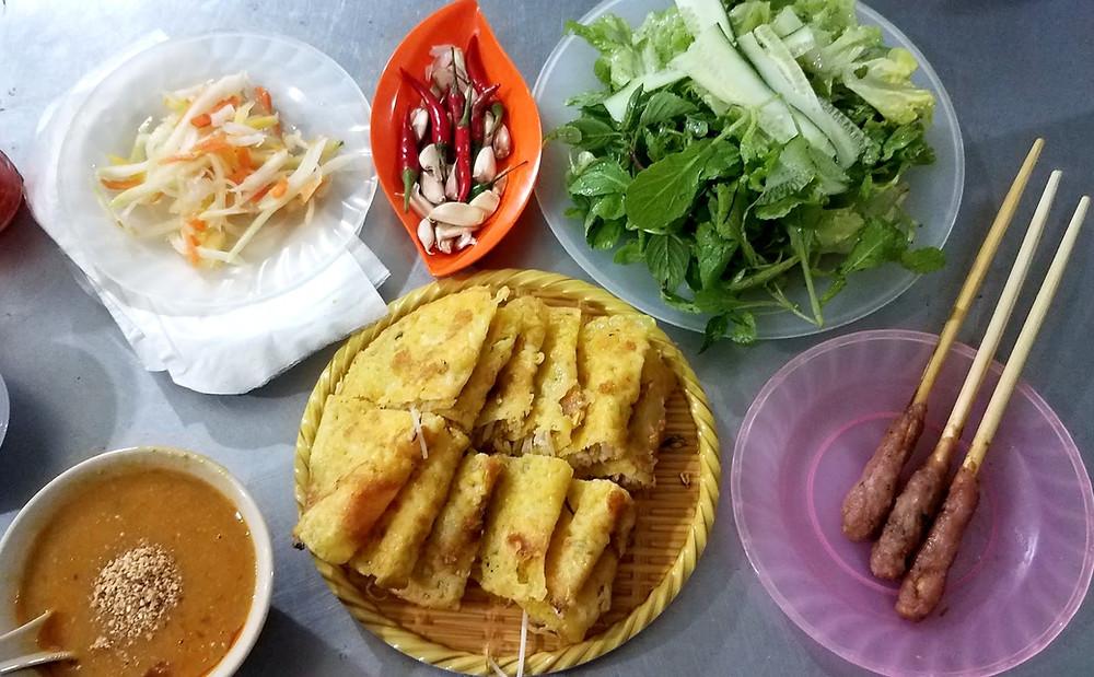 Banh Xeo vietnamese pancakes