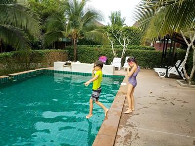 Oscar Pool Villa swimming pool, Krabi, Thailand