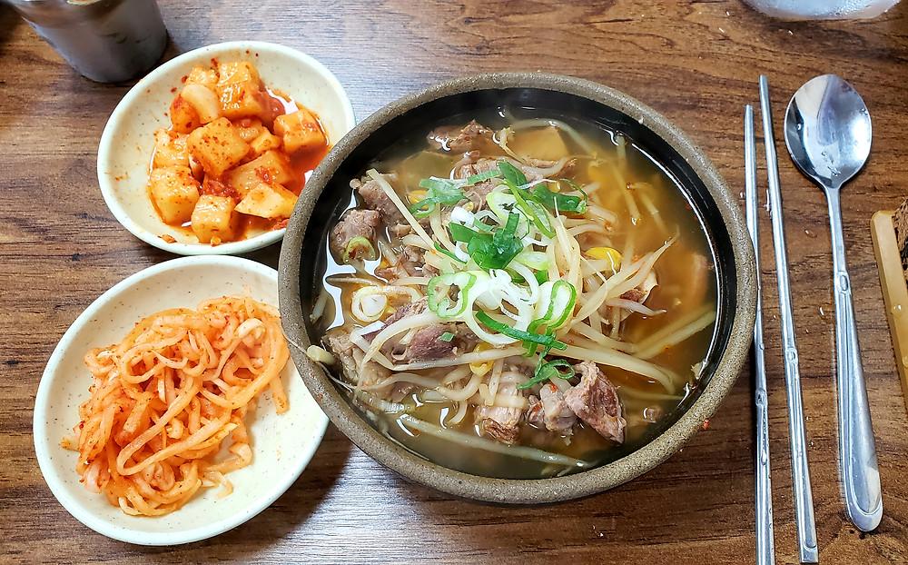 Beef Gukbbap in Busan, Haeundae Wonjo Halmae