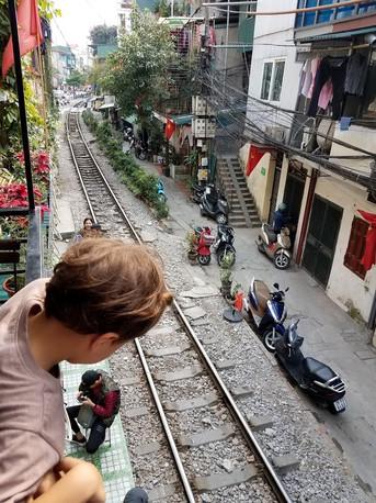 Train Street with Kids, Vietnam