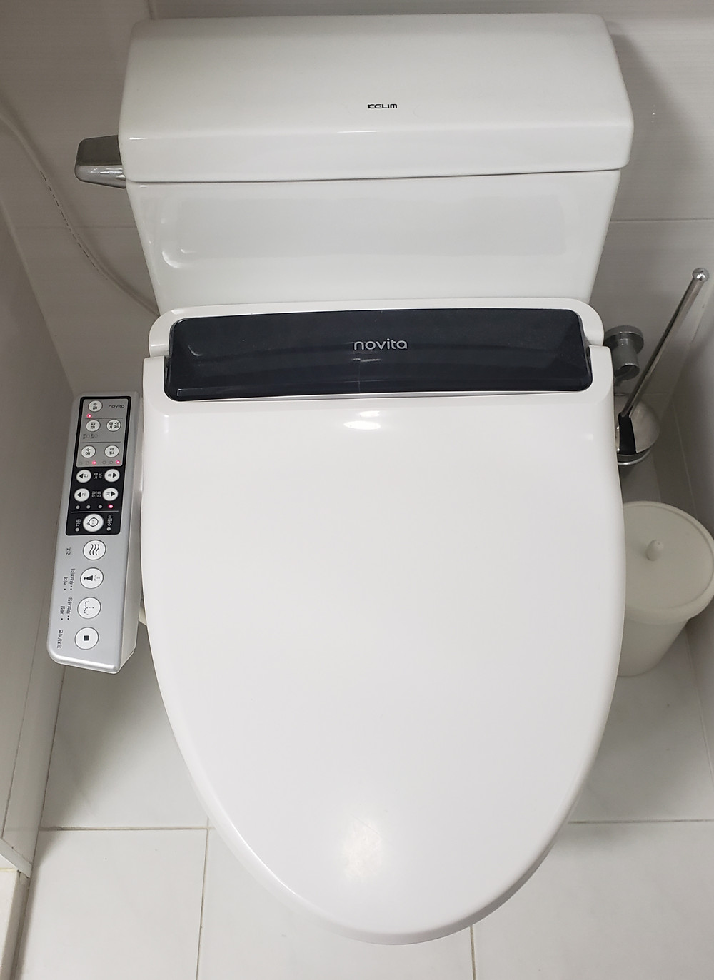 Fancy asian toilet