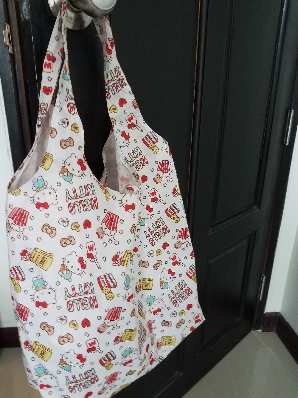 Hello Kitty reusable shopping bag from Japan