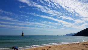HAEUNDAE BEACH, Busan - 1 Month Stay with KIDS