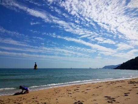 HAEUNDAE BEACH, Busan - 1 Month Stay with KIDS