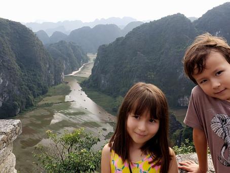 NINH BINH, VIETNAM with KIDS
