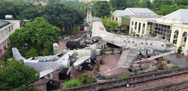 Vietnam military history museum with kids