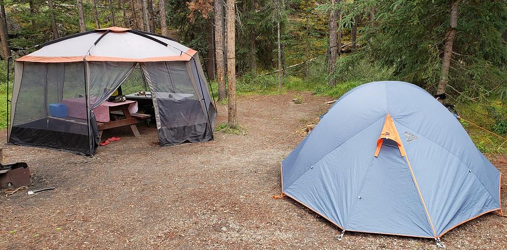 Camping in Jasper National Park