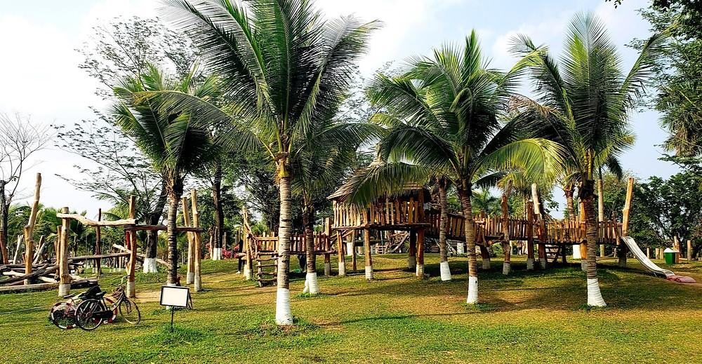 Playgrounds in Hanoi Ecopark