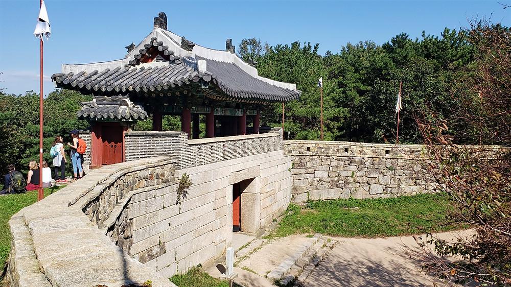 Hiking in Geumjeongsanseong