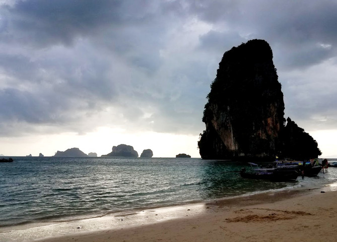Storm clouds ahead, Phra Nang Beach