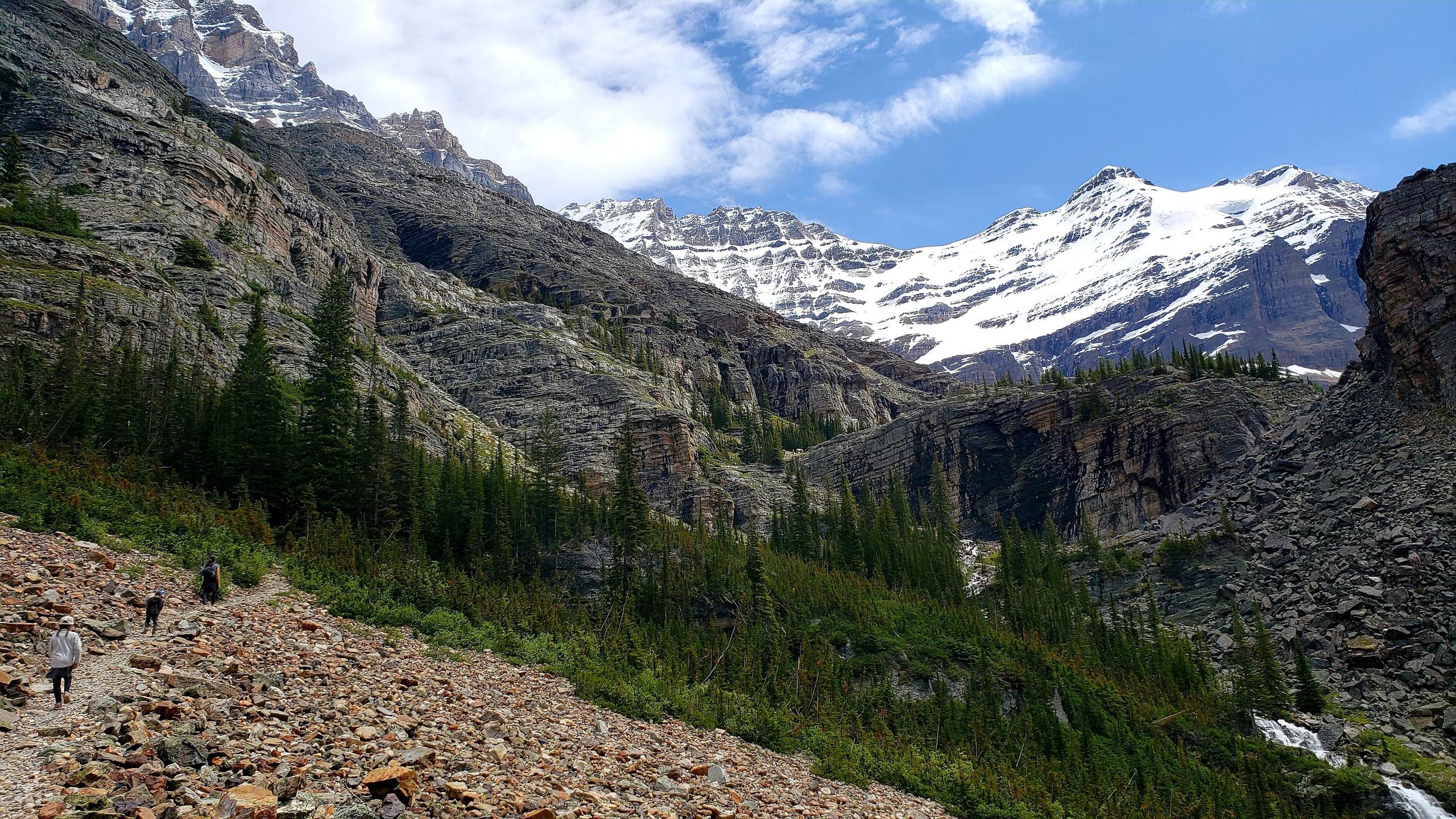 Best family hike in B.C, Lake Oesa, Yoho National Park, B.C.