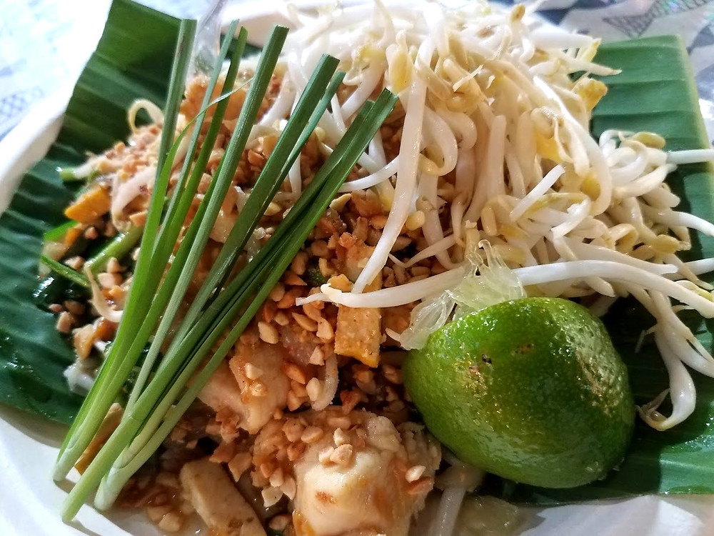 The very popular Pad Thai from a night market in Chiang Mai