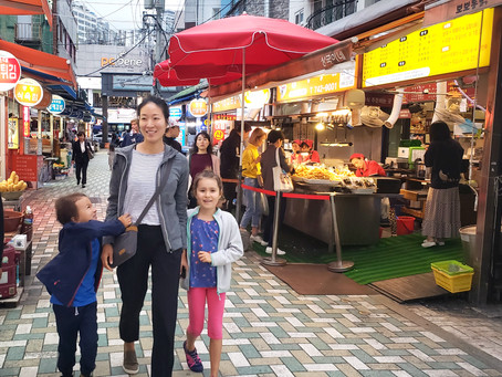 Street FOOD with KIDS in Busan