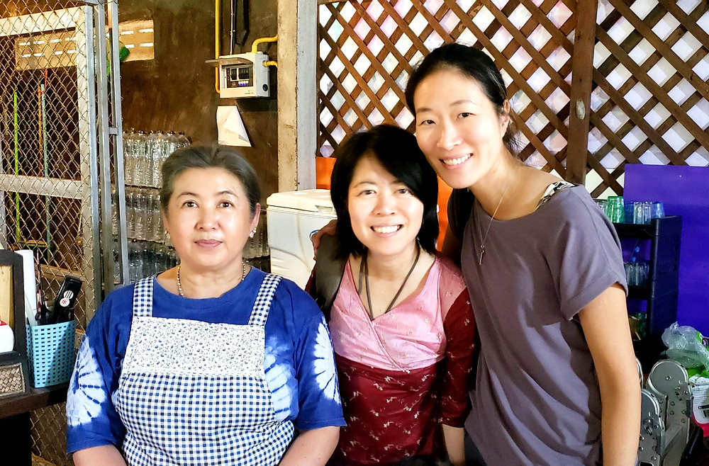 Friendly local Thai people in Chiang Mai
