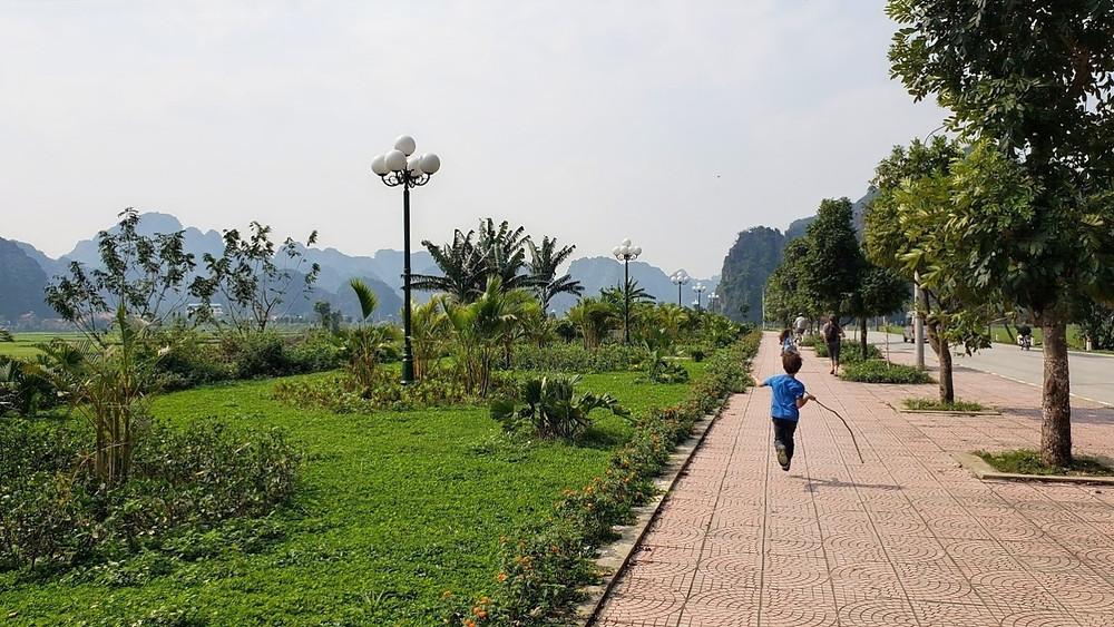 Ninh Binh mountains, Vietnam