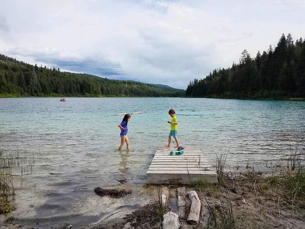 Camping in Kentucky - Alleyne Provincial Park, B.C.